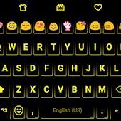 Neon Orange - Emoji Keyboard