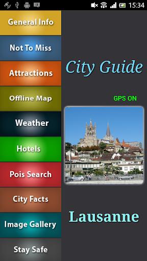 Lausanne Offline Guide