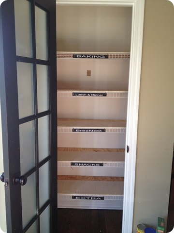 No more wire shelves!! (A pantry redo) from Thrifty Decor Chick