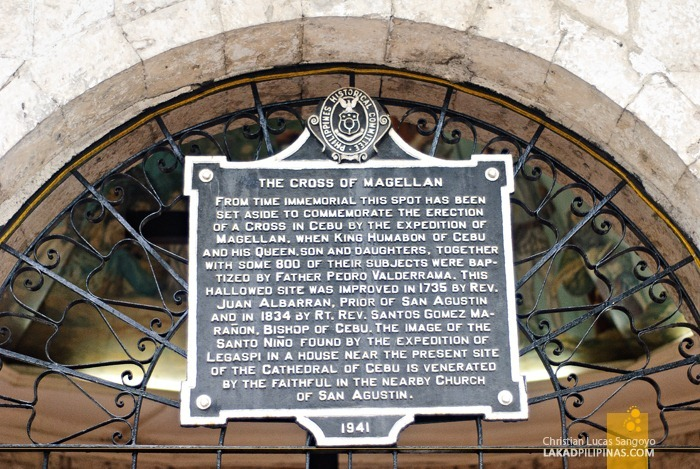 Historical Marker at Magellan's Cross Cebu