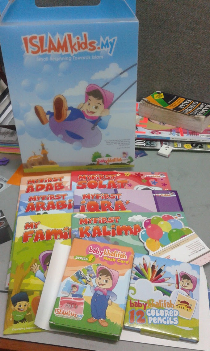 For my kids; Baby Khalifah - Interactive Learning Series