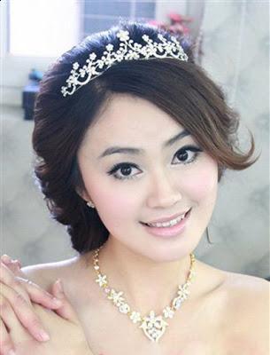 wedding hairstyles  haircuts for brides korean bridal