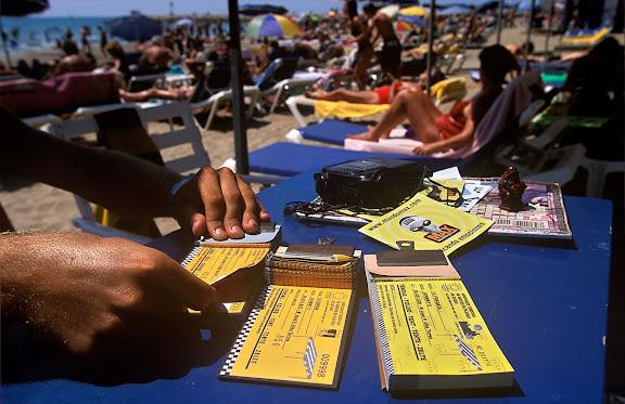 Platja de la Ribera.Sitges, Garraf, Barcelona 2000