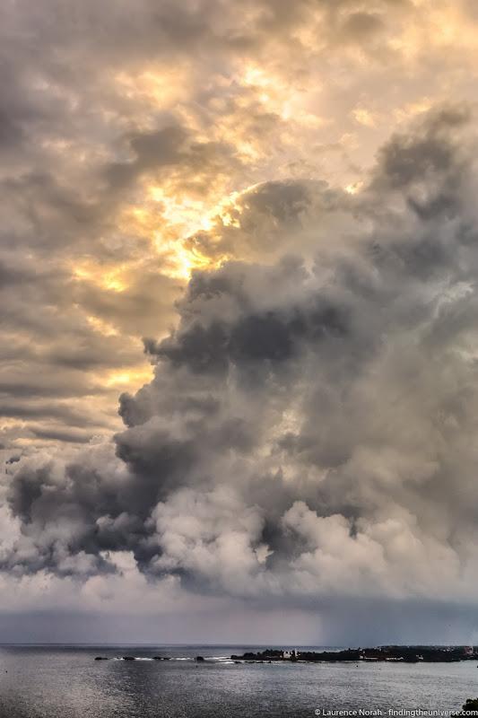 Clouds over Galle Sri Lanka