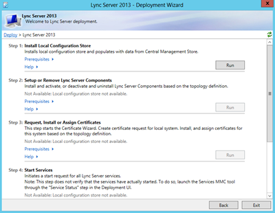 install or update lync server system