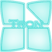 Tron Next Launcher 3D Theme