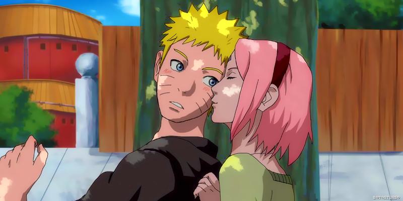 Narusaku pelicula Naruto