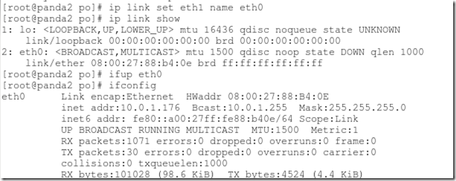 """How to fix """"Device eth0 does not seem to be present"""