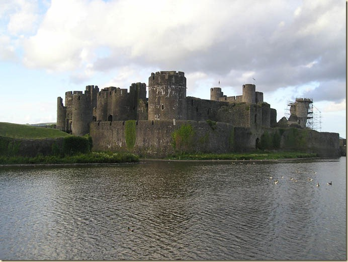 caerphilly castle36