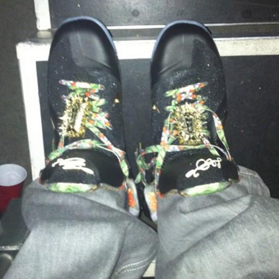 82650b2ae63 ... Nike LeBron 9 8220Watch the Throne8221 James amp JayZ amp Kanye West