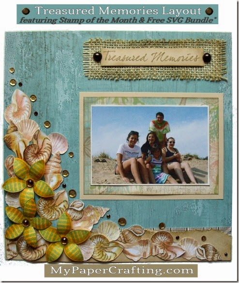 treasured memories ctmh layout-490a