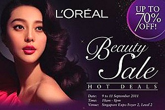 L'Oreal Singapore Sale Expo