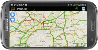 Screenshot of Smart Traffic