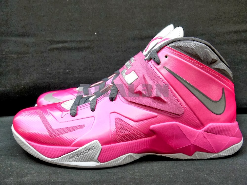 ... A Look at Nike Zoom Soldier VII 7 Think Pink ... 0676d7d83