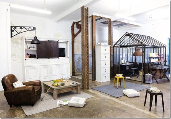 sponsor stile loft a maisons du monde cafe creativo. Black Bedroom Furniture Sets. Home Design Ideas