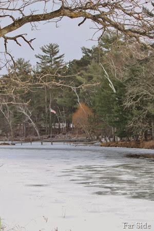 Fishook River is froze4n