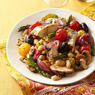Mediterranean Chicken With Roasted Vegetables Recipes.