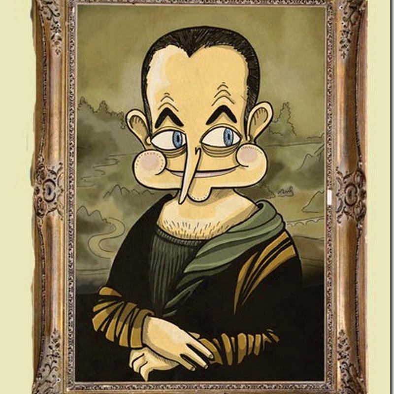 Humor gráfico: museo español de la crisis