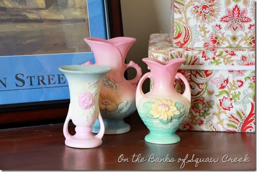 antique roseville vases
