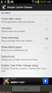Simple Cache Cleaner v1.00.02