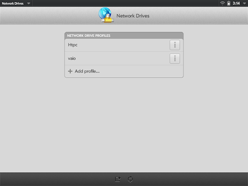 touchplayer webos