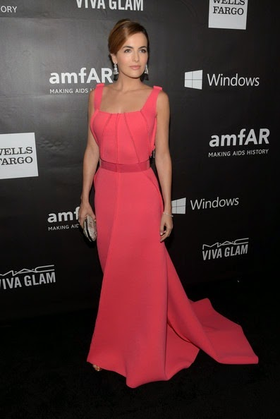 Camilla Belle attends the 2014 amfAR LA Inspiration Gala