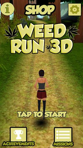 Weed Run 3D