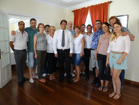 Ministrul turismului Mauritius