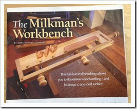Milkman workbench-magazine