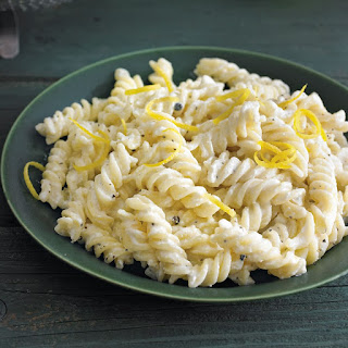 Fusilli with Lemon Zest and Ricotta.