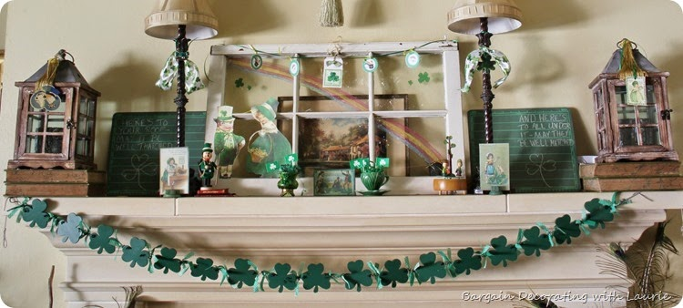 St Patrick Decor
