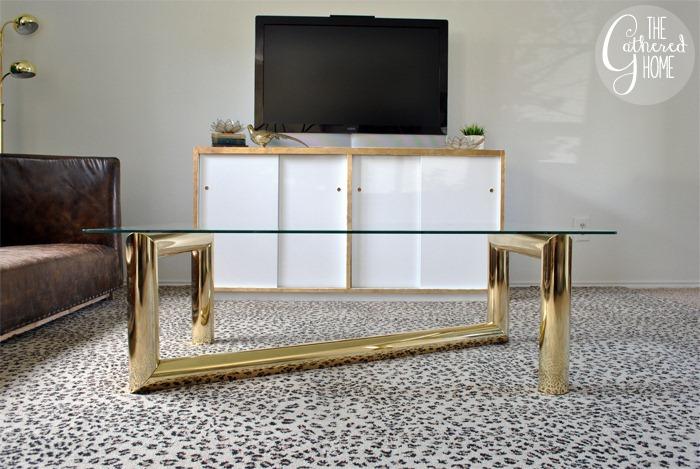 thrift score thursday - karl springer coffee table
