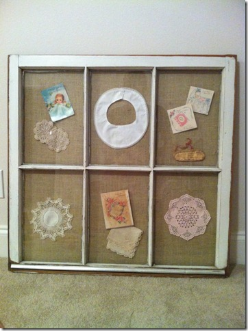 Lucy's Window Frame