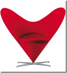 vitra-heart-chair Verner Panton