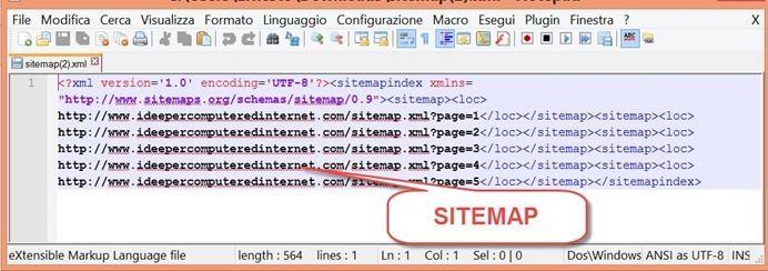 google adesso crea automaticamente le sitemap per blogger idee