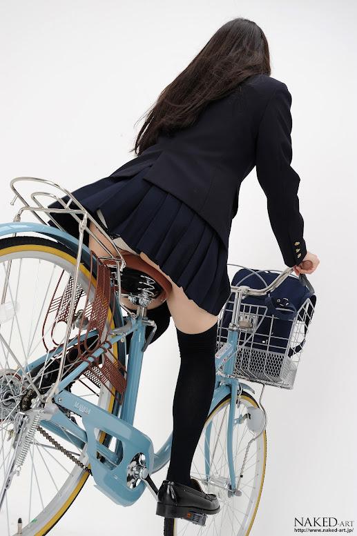 Naked-Art 447 Photo No.00509 市ノ瀬明日香 明日香自転車 高画質フォト - idols
