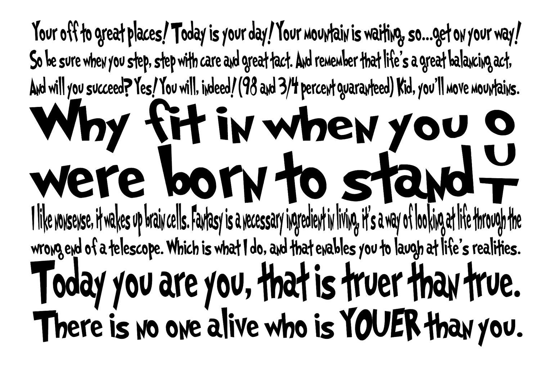 Dr Seuss Love Quotes dr seuss life quotes   Quotes links Dr Seuss Love Quotes