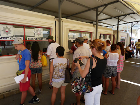 Control pasapoarte Nicosia de Nord