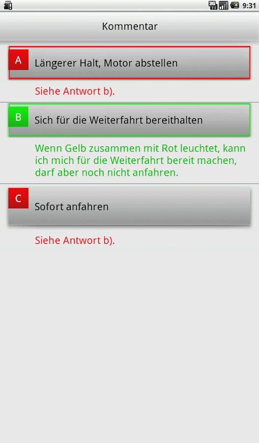 e.driver 2015 Theorieprüfung - screenshot