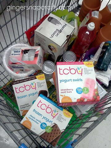 tcby yogurt shopping trip