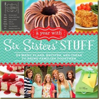 Six Sister Cookbook cover