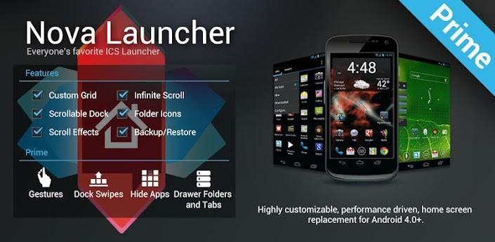 Nova Launcher Prime Full Apk