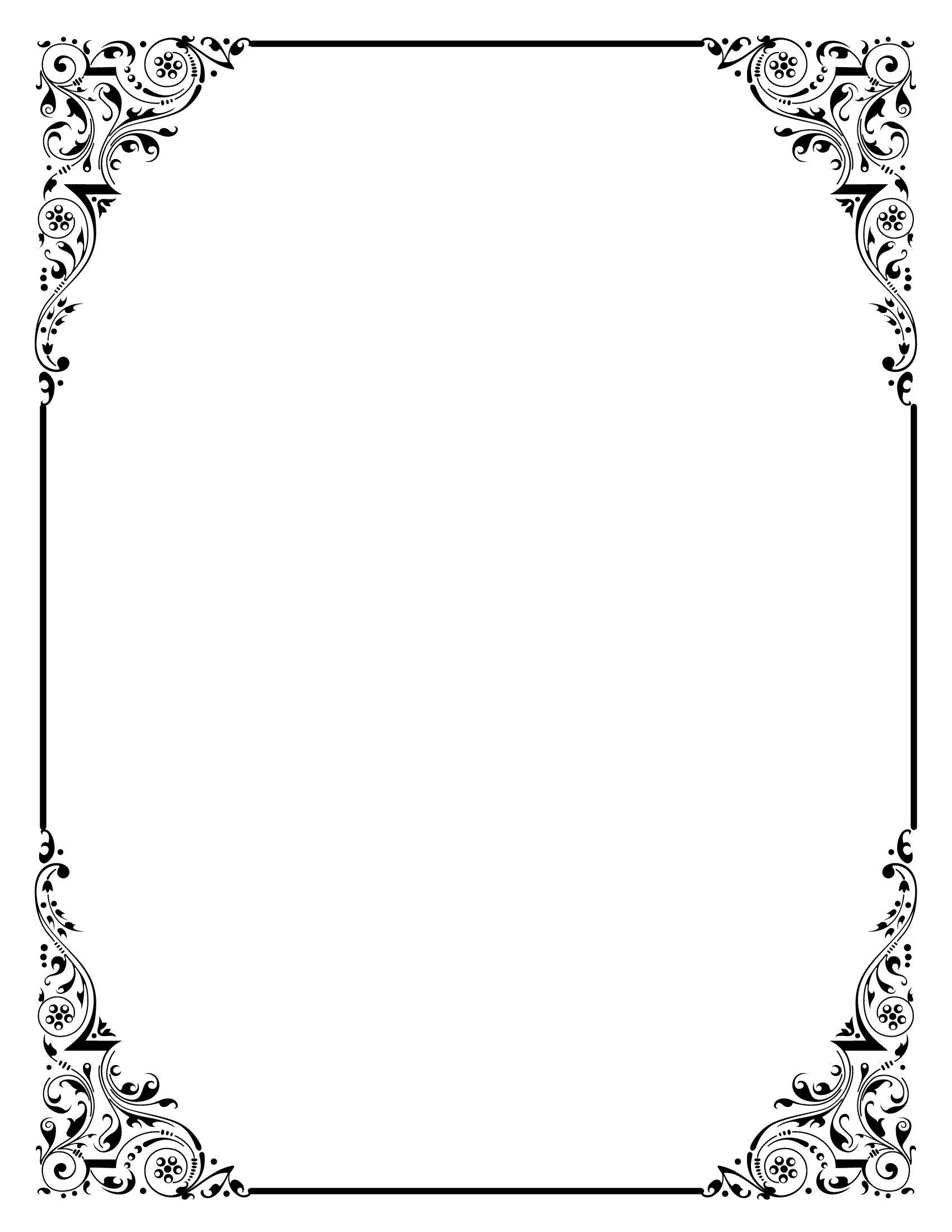 elegant page borders - photo #36