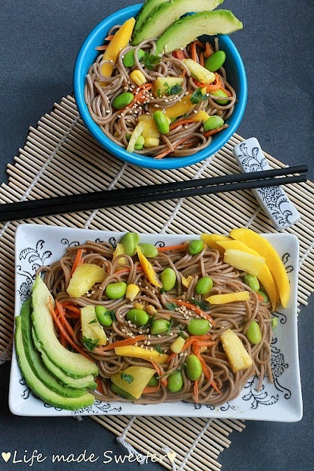 Soba Noodle Salad with Mango, Edamame, Pineapples & Avocado 2.jpg
