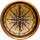 Brujula con localización GPS icon