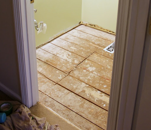 Installing Plywood Over Particle Board Subfloor Black Apron