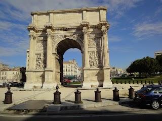 Porte d'Aix à Marseille