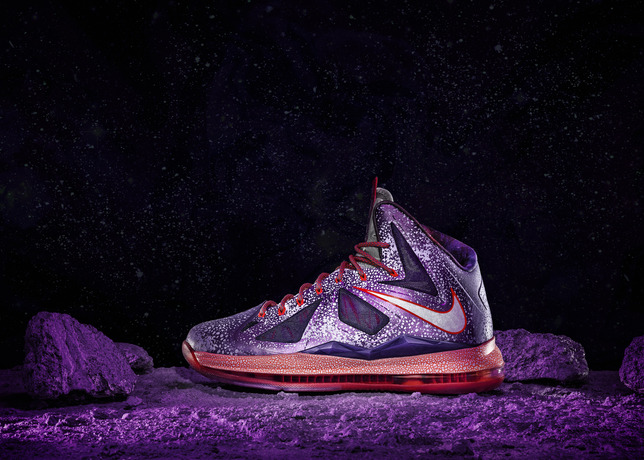 timeless design 46b01 8588d Technical benefits of the LEBRON X include full-length visible Nike Zoom  cushioning, dynamic Flywire technology and Hyperfuse construction – a  trilogy set ...