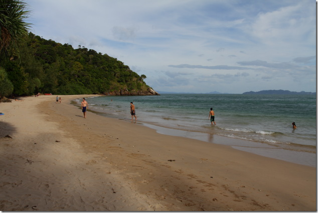 Sandy Beach at Lanta National Park