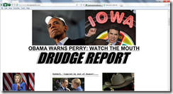 obama warns perry